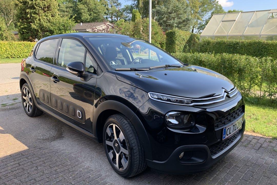 Billig billeje af Citroën C3 1.5 BlueHDI VTR Sport nær 8000 Aarhus.