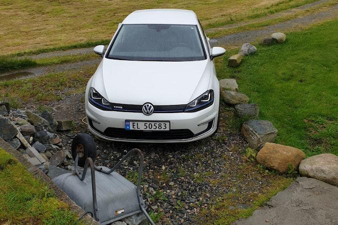 Billig leie av VW E-Golf med Aircondition nærheten av 5258 Fyllingsdalen.