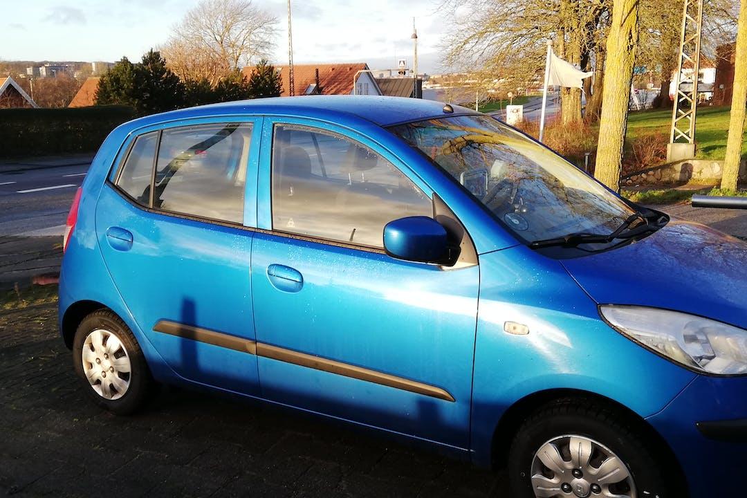 Billig billeje af Hyundai i 10 1,25  nær 9210 Aalborg.