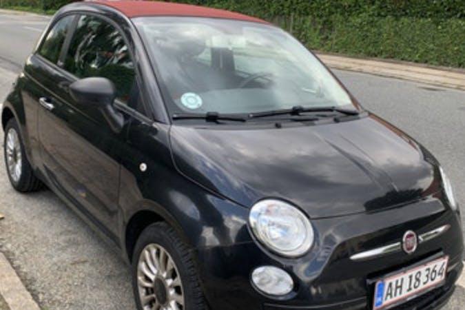 Billig billeje af Fiat 500 cabriolet nær 2920 Charlottenlund.