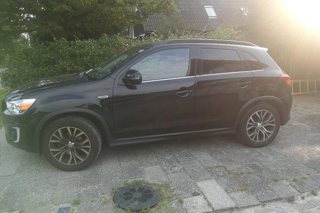 Billig billeje af Mitsubishi ASX med Isofix beslag nær 2680 Solrød Strand.