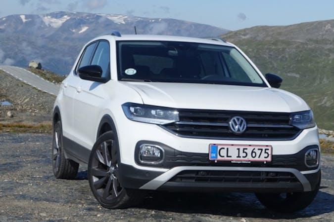 Billig billeje af VW T-Cross 115HK med GPS nær 2100 København.
