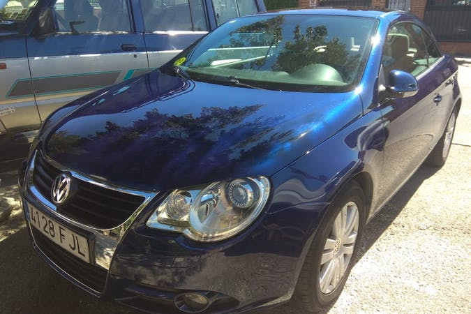 Alquiler barato de Volkswagen Eos 2.0 Tdi cerca de 28054 Madrid.