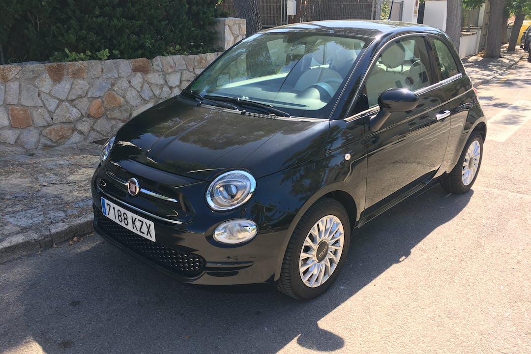 Alquiler barato de Fiat 500 1.2 Lounge cerca de 07006 Palma.