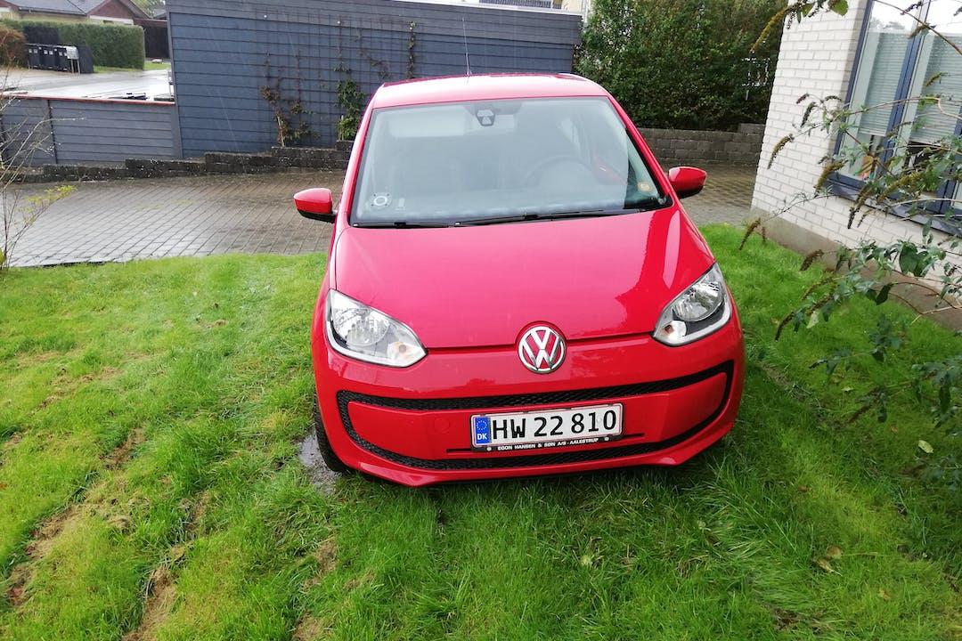 Billig billeje af Volkswagen UP! nær 9600 Aars.