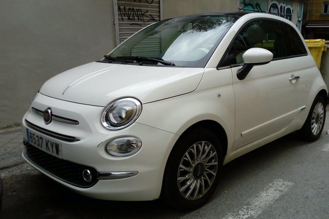 Alquiler barato de Fiat 500 1.2 Lounge cerca de 28011 Madrid.