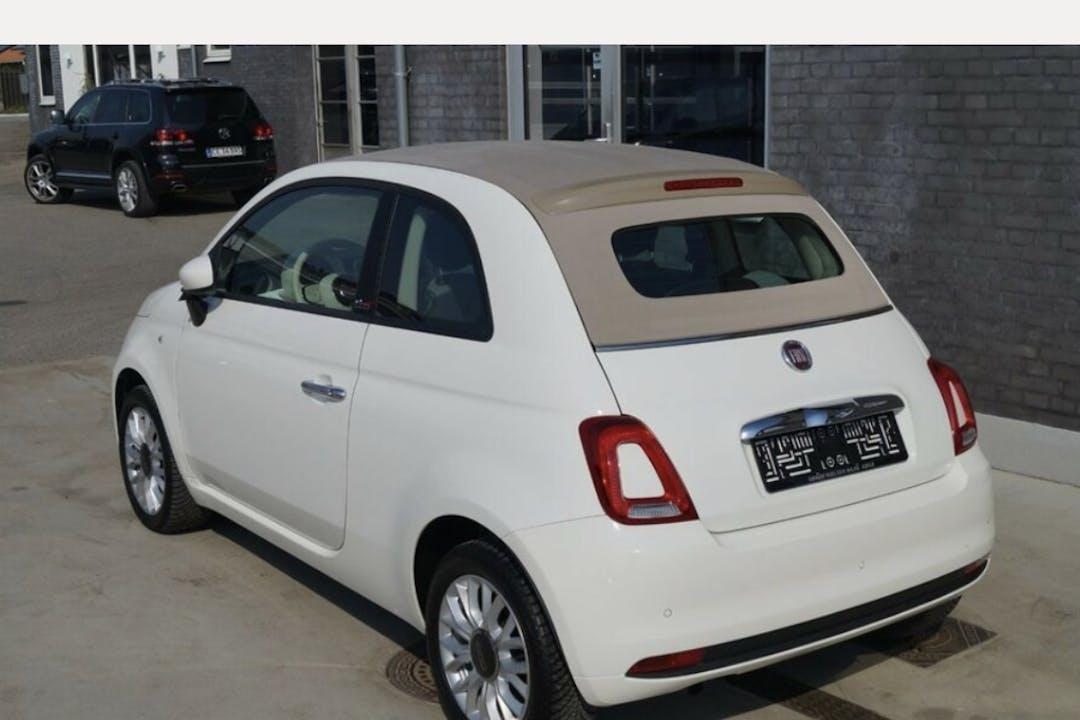 Billig billeje af Fiat 500 nær 8550 Ryomgård.