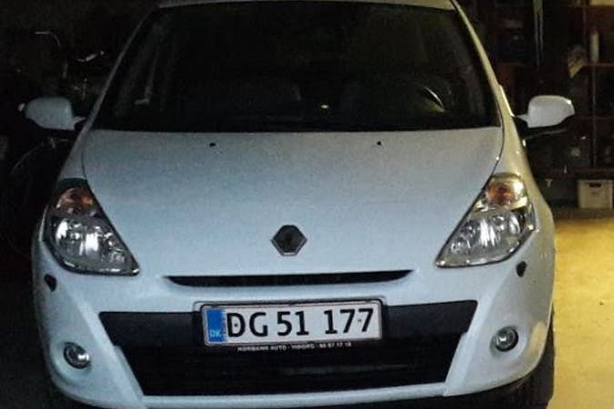 Billig billeje af Renault Clio III 1,5 dCi 75 Avantage 5d nær 5700 Svendborg.