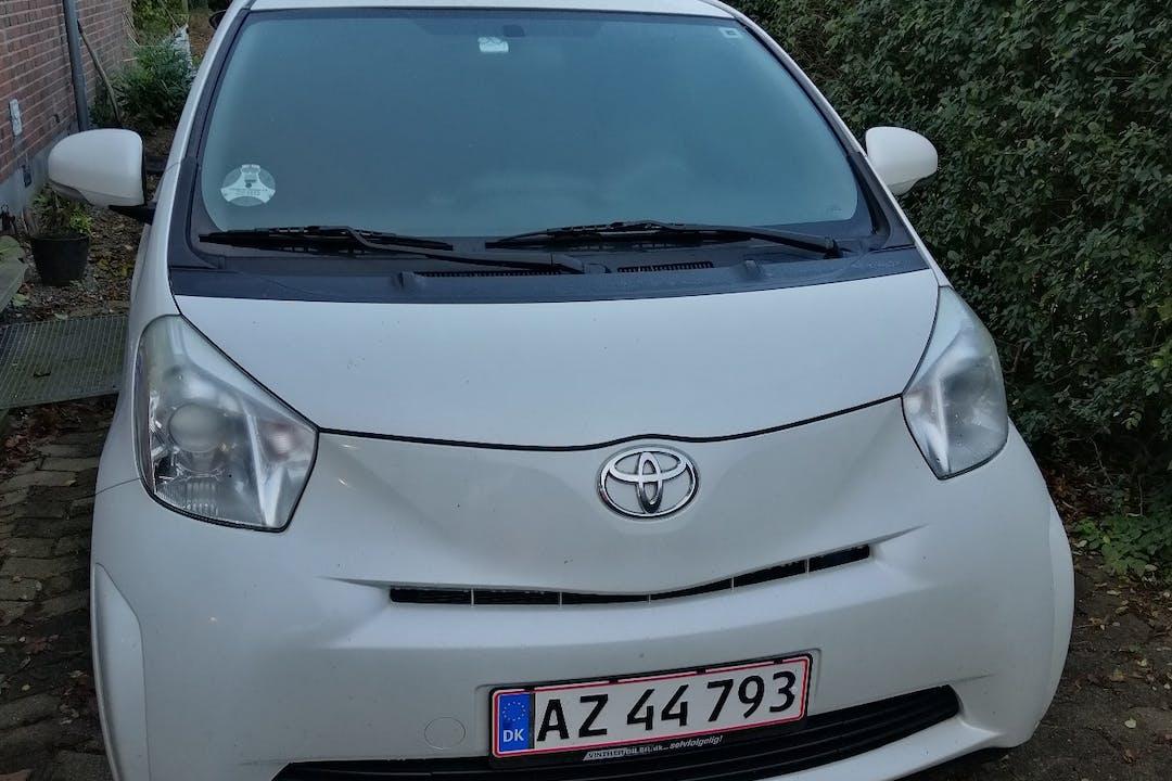 Billig billeje af Toyota iQ nær 5792 Årslev.