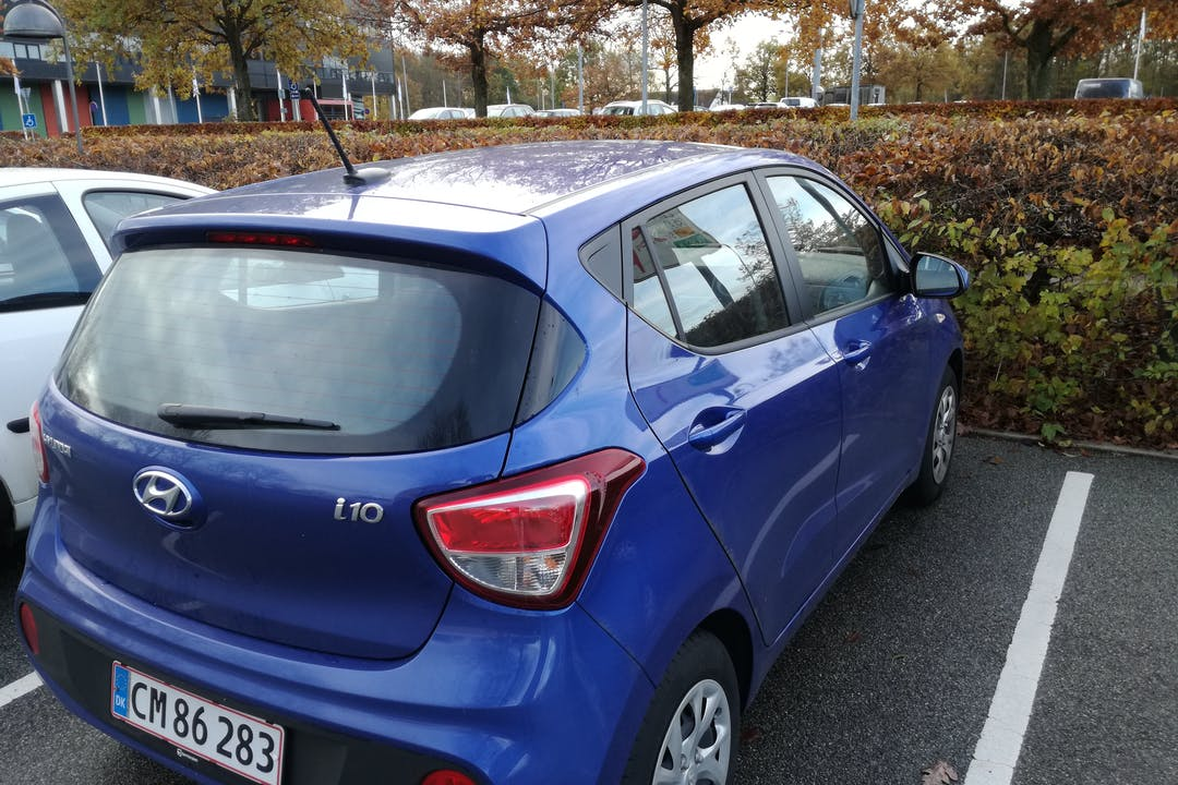 Billig billeje af Hyundai i10 nær 5800 Nyborg.