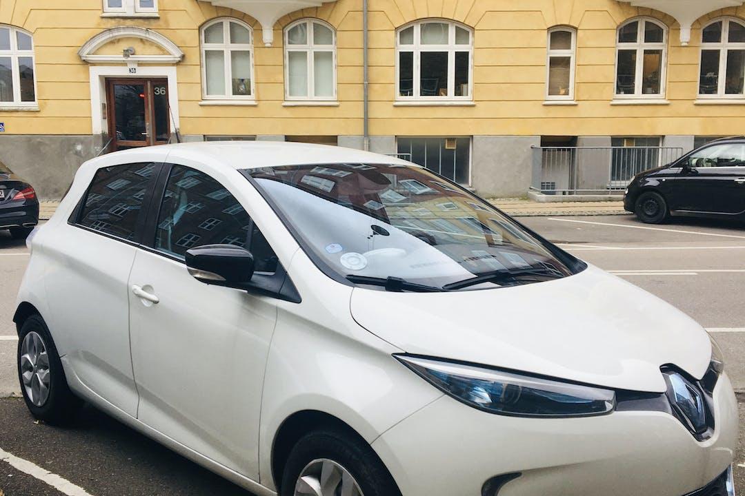 Billig billeje af Renault Zoe nær 2500 København.