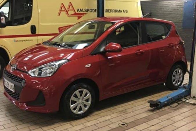 Billig billeje af Hyundai i10 nær 8500 Grenå.