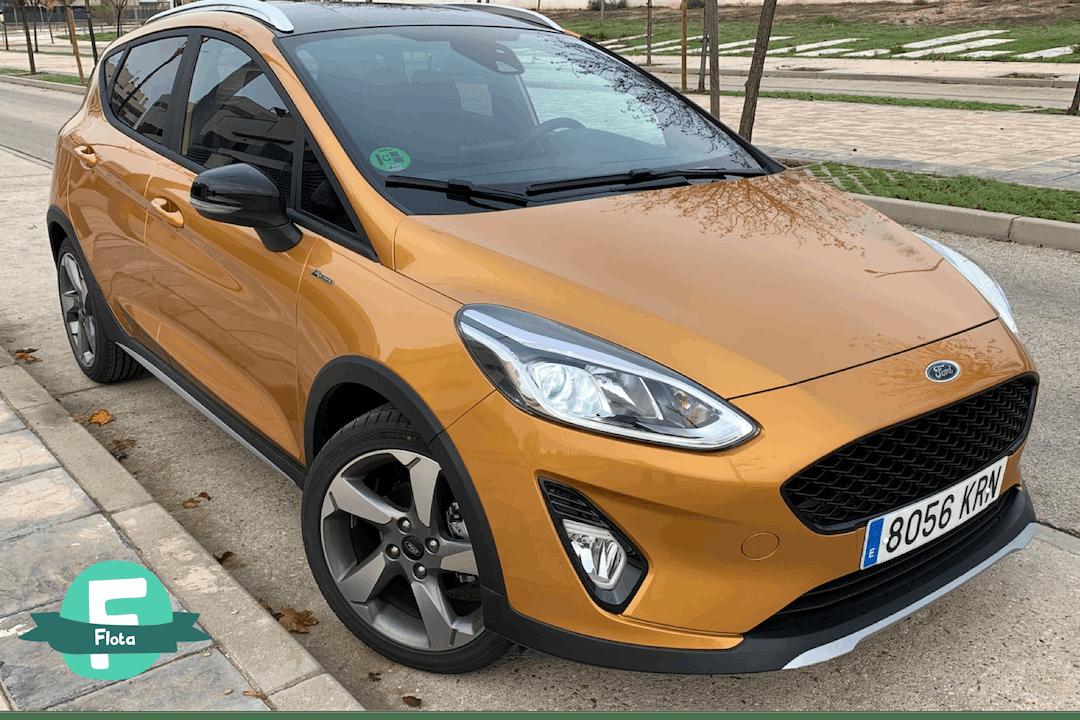 Alquiler barato de Ford Fiesta 1.0 Ecoboost 100 St-Line cerca de 28008 Madrid.