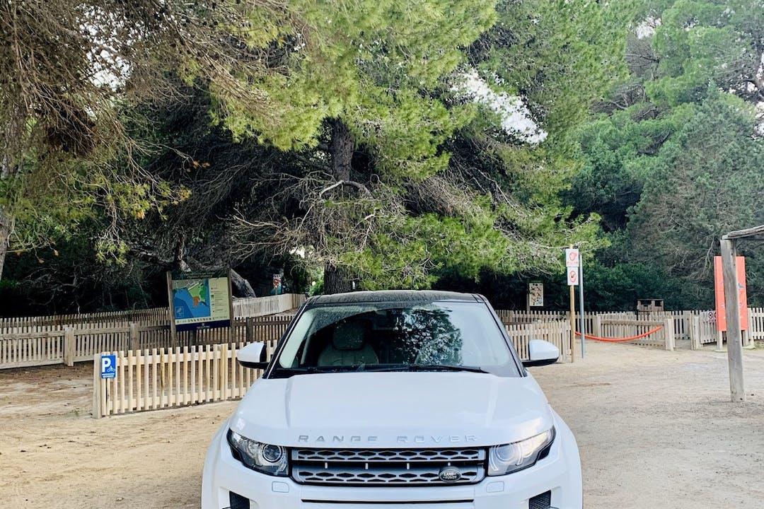 Alquiler barato de Land Rover Range Rover Evoque cerca de 07800 Eivissa.