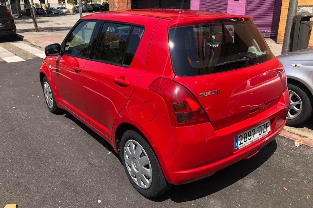 Alquiler barato de Suzuki Swift Gl 1.3 cerca de 28018 Madrid.