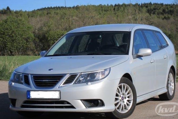 Billig biluthyrning av Saab 9 3 i närheten av 217 74 Västervång.