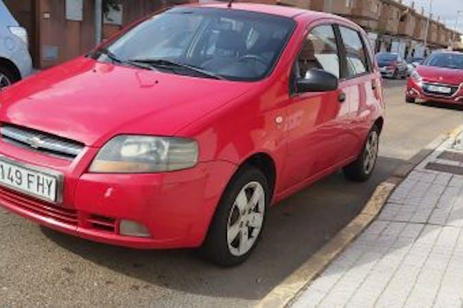 Alquiler barato de Chevrolet-Gm Kalos 1.2 Se cerca de 41001 Sevilla.