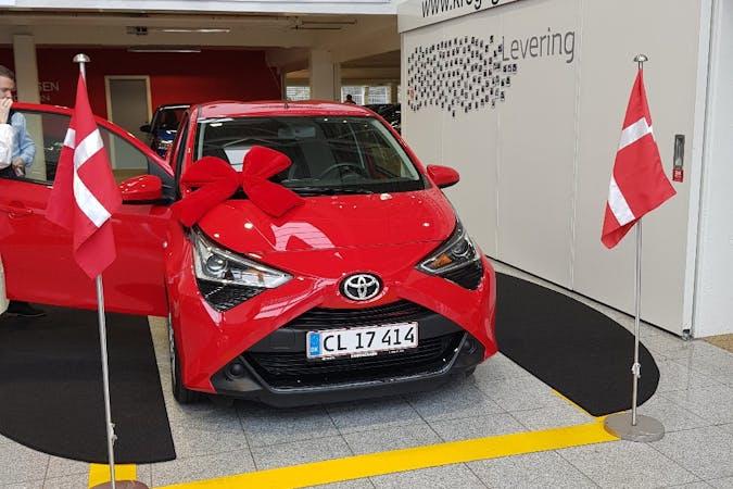 Billig billeje af Toyota AYGO nær 5900 Rudkøbing.