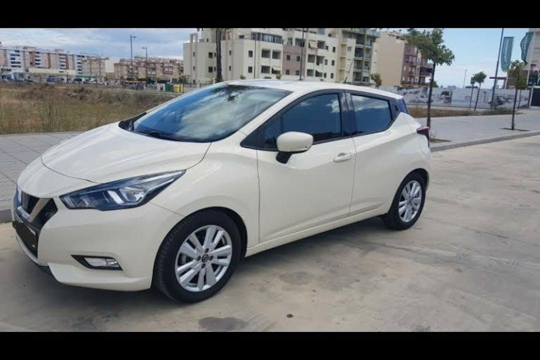 Alquiler barato de Nissan Micra 1.0 G 70 Acenta cerca de 29580 Estación de Cártama.