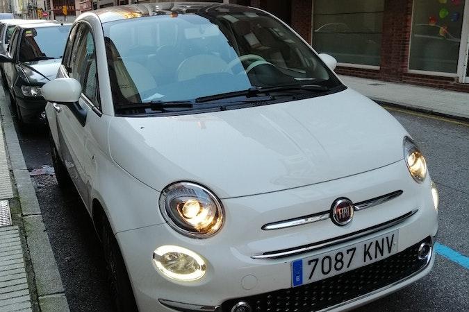 Alquiler barato de Fiat 500 1.2 Aniversario cerca de  Gijón.