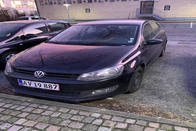 Billig billeje af Volkswagen Polo nær 9000 Aalborg.
