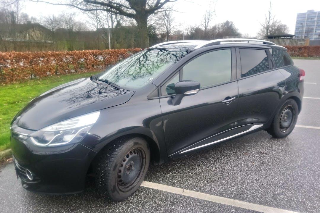 Billig billeje af Renault Clio SW med GPS nær 8210 Aarhus.