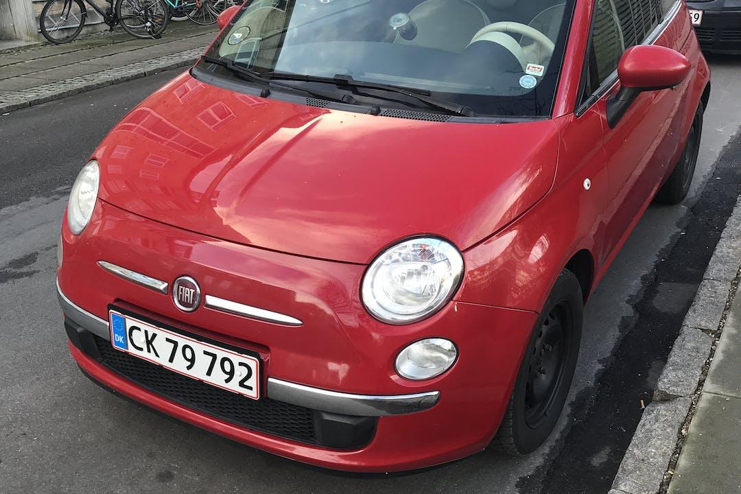 Billig billeje af Fiat 500 nær 2400 København.
