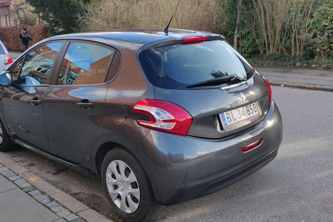 Billig billeje af Peugeot 208 nær 8000 Aarhus.