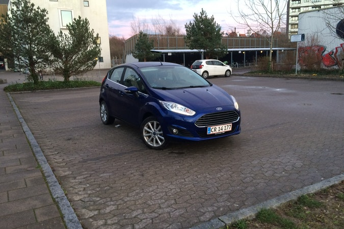 Billig billeje af Ford Fiesta 1.0 EcoBoost nær 2400 København.