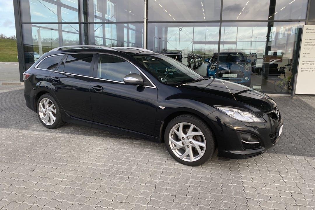 Billig billeje af Mazda 6 med Anhængertræk nær 2300 København.