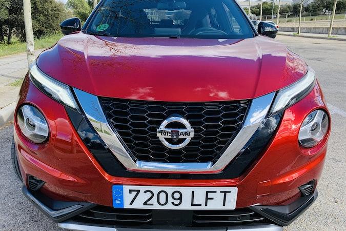 Alquiler barato de Nissan Juke cerca de 28012 Madrid.
