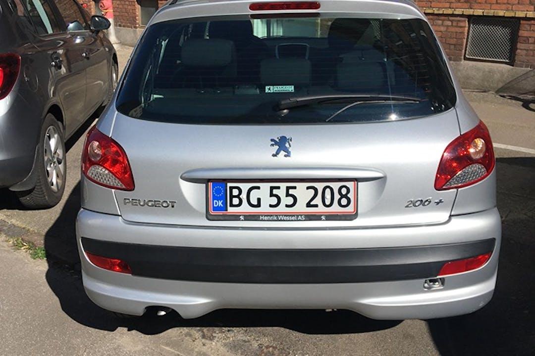 Billig billeje af Peugeot 206+ med Aircondition nær 2100 København.