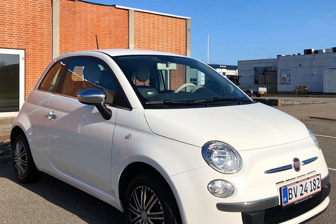 Billig billeje af Fiat 500 nær 8000 Aarhus.