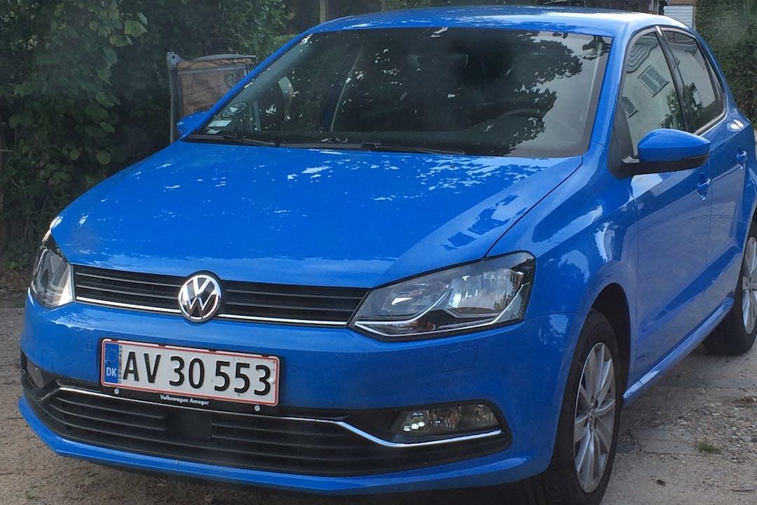 Billig billeje af Volkswagen Polo med Isofix beslag nær 2950 Vedbæk.