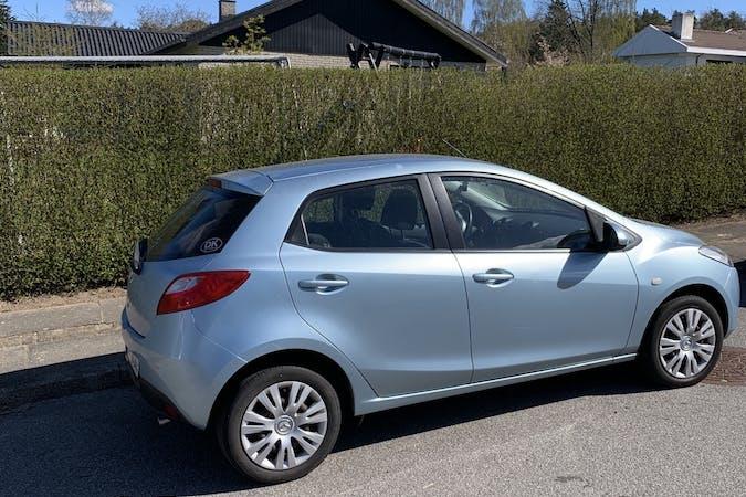 Billig billeje af Mazda 2 med Anhængertræk nær 9230 Svenstrup J.