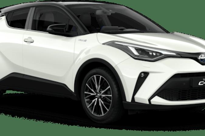 Billig biluthyrning av Toyota C-HR  med GPS i närheten av  Brevik.