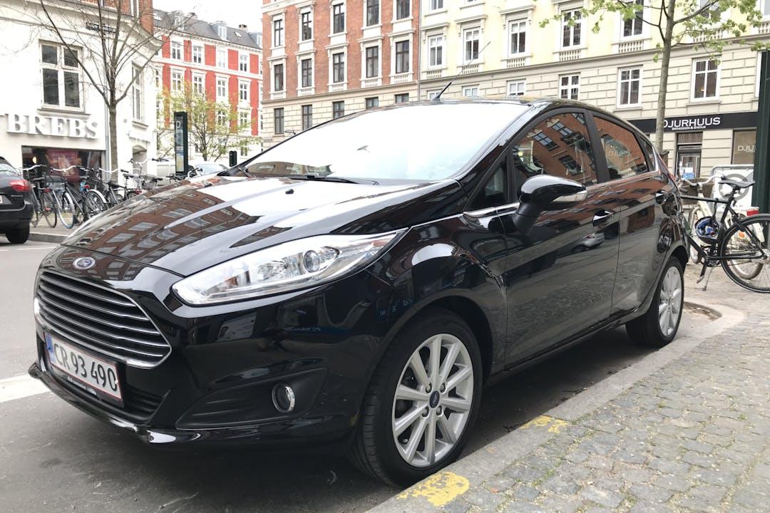 Billig billeje af Ford Fiesta Titanium 1,0 EcoBoost nær 2700 København.