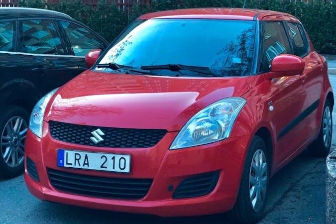 Billig biluthyrning av Suzuki Swift i närheten av 118 67 Stockholm.