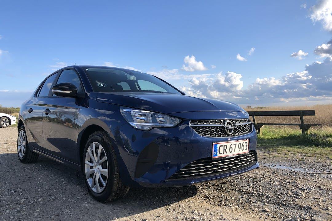Billig billeje af Opel Corsa med Isofix beslag nær 2300 København.