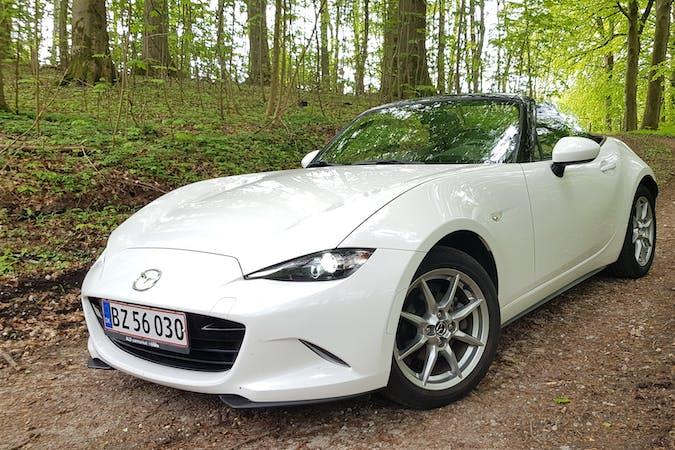 Billig billeje af Mazda MX-5 1,5 131 hk Skyactiv  nær 8600 Silkeborg.
