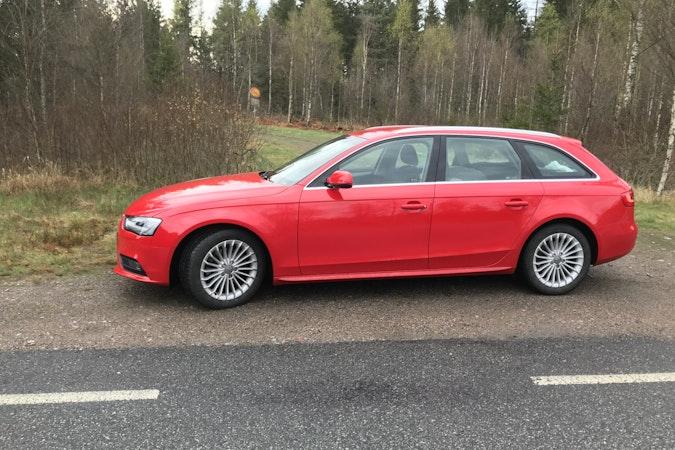 Billig biluthyrning av Audi A4, TDI i närheten av  Södermalm.