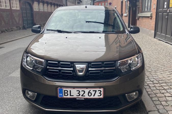 Billig billeje af Dacia Sandero Diesel - 28,6 km/l nær 8260 Viby.