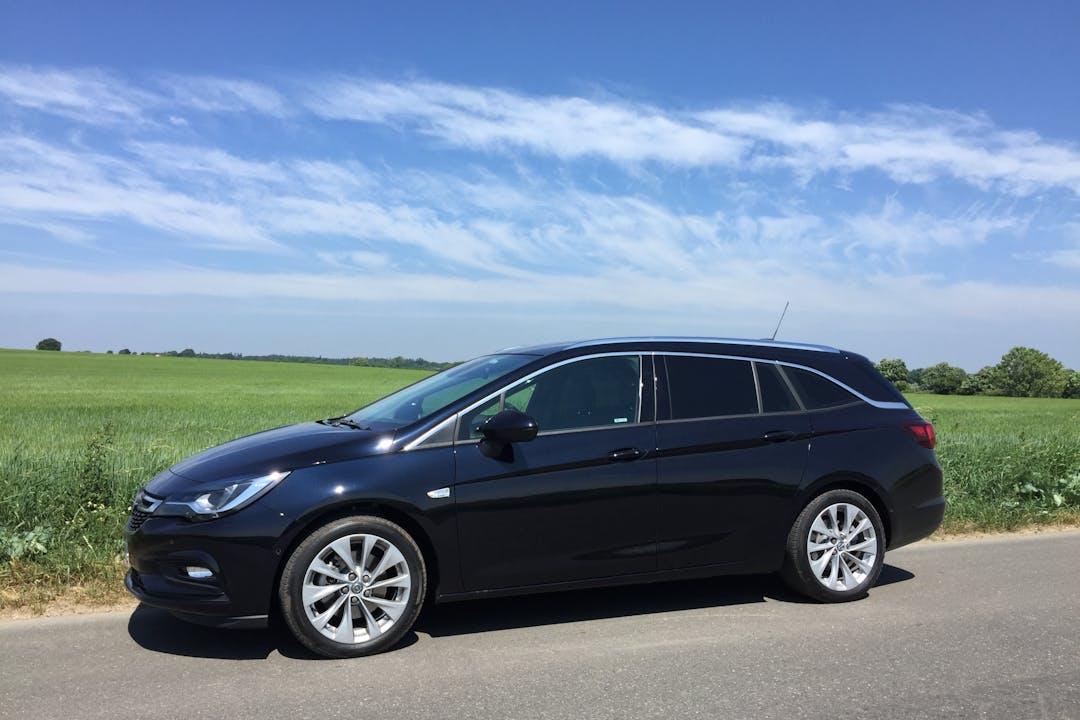 Billig billeje af Opel Astra nær 2665 Vallensbæk Strand.