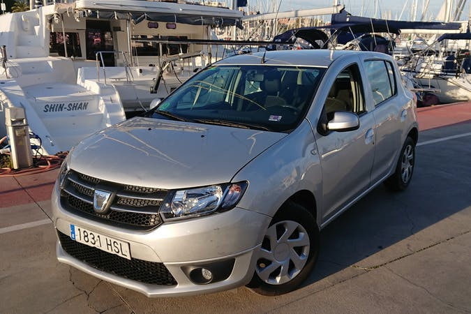 Alquiler barato de Dacia Sandero 1.2 Ambiance con equipamiento GPS cerca de 08930 Sant Adrià de Besòs.
