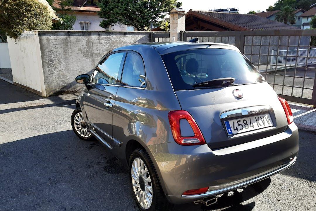 Alquiler barato de Fiat 500 1.2 Aniversario cerca de 39709 Castro Urdiales.