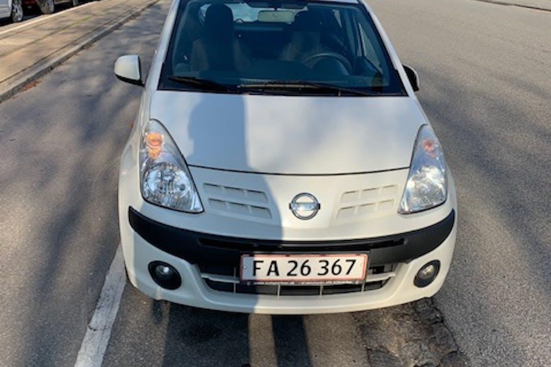 Billig billeje af Nissan Pixo nær 2400 København.