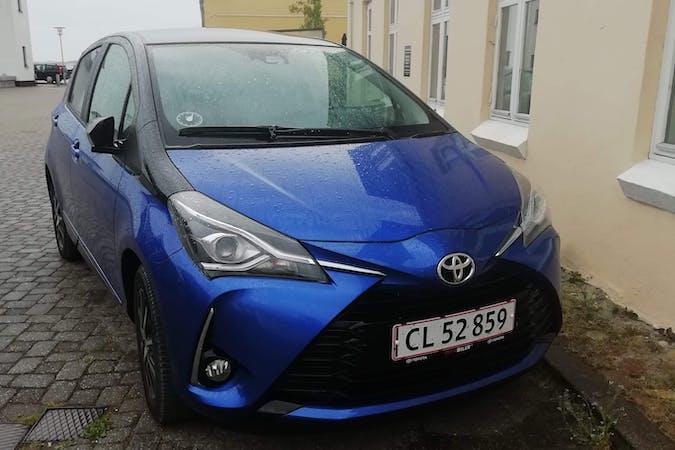 Billig billeje af Toyota Yaris med Aircondition nær 9670 Løgstør.