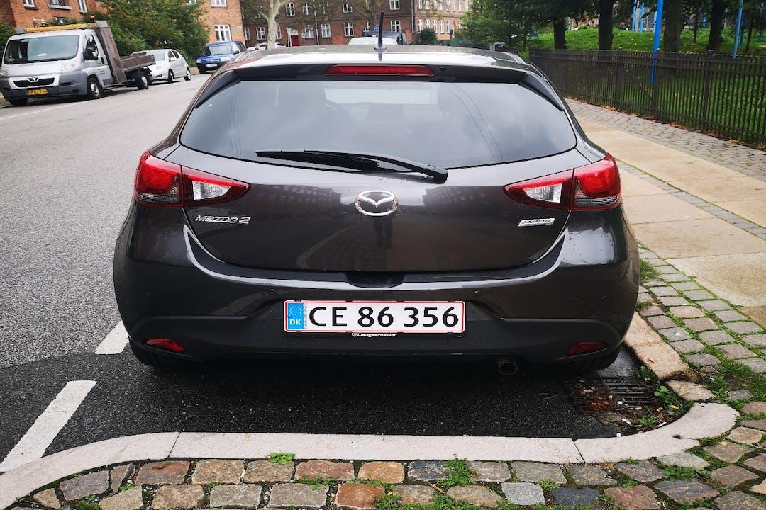 Billig billeje af Mazda 2 nær 2200 København.