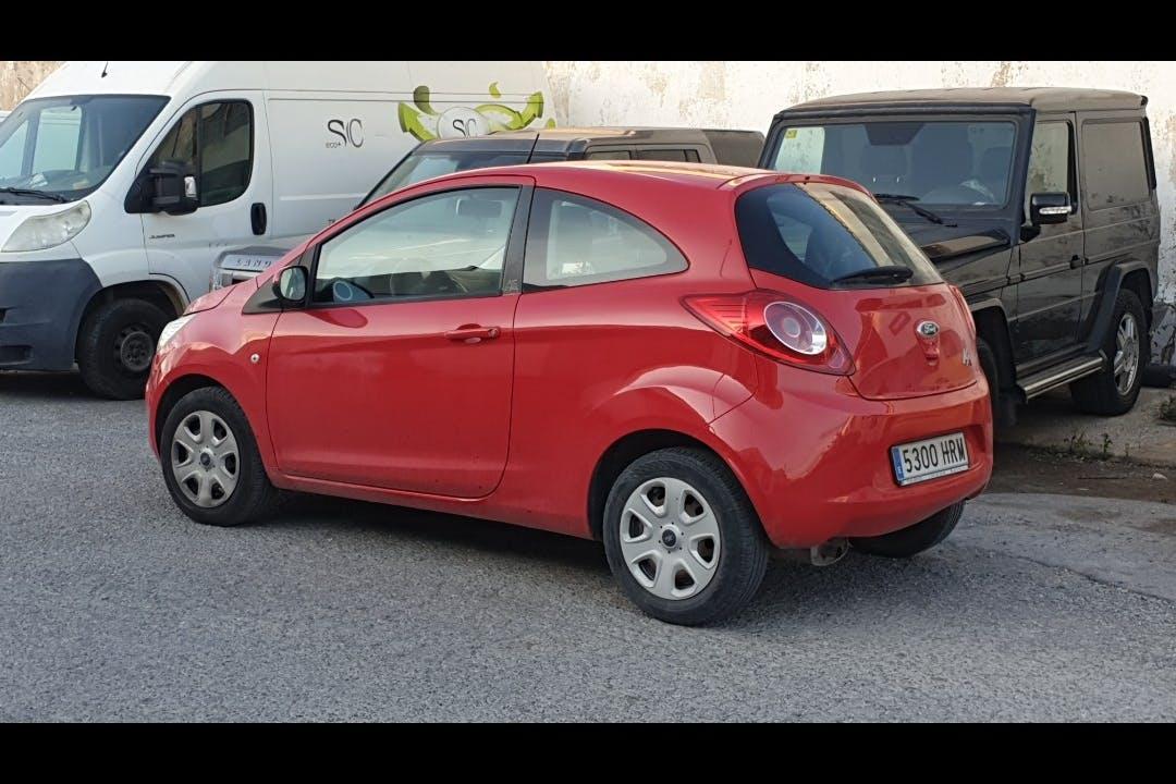 Alquiler barato de Ford Ka 1.2 Digital cerca de 07800 Eivissa.
