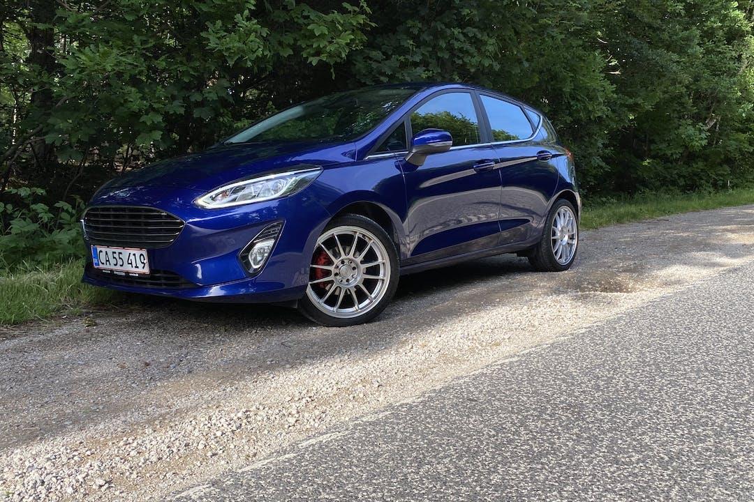 Billig billeje af Ford Fiesta nær 3400 Hillerød.